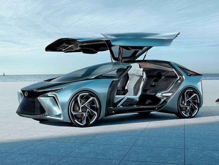 Lexus LF 30 electrified electric car concept
