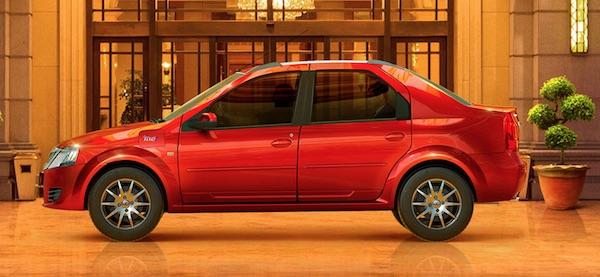 Mahindra e Verito electric sedan