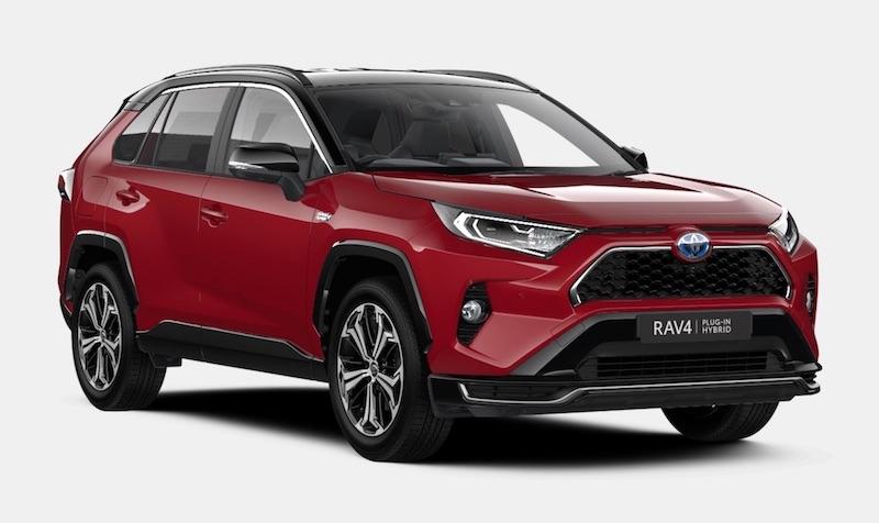 Toyota RAV4 plug in hybrid electric SUV India