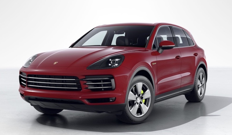 Porsche Cayenne electric car