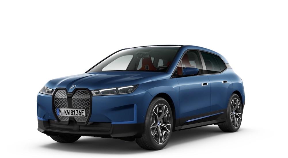 BMW iX electric car India