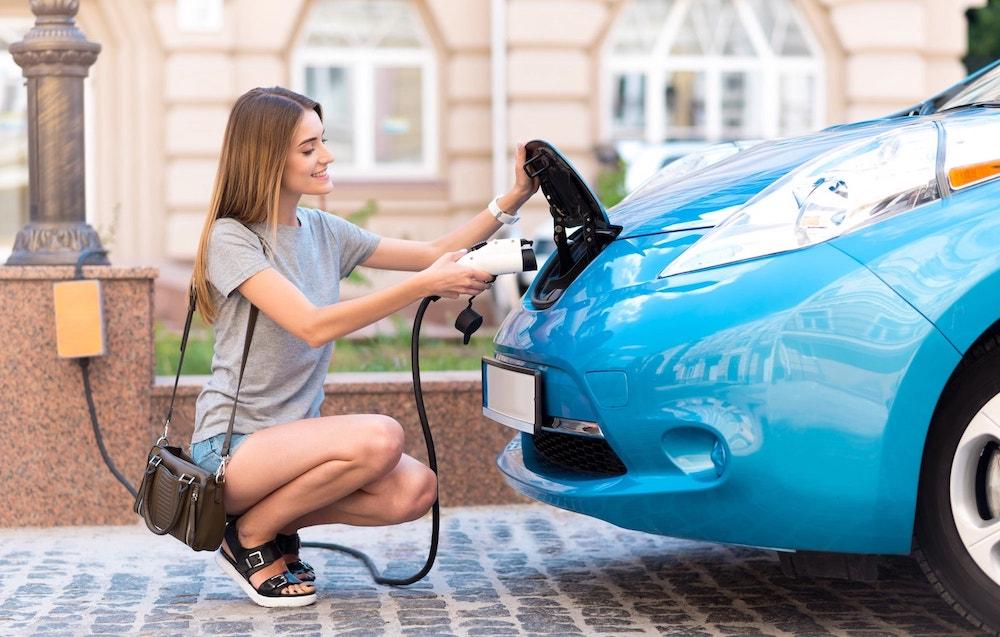 Type 1 To Type 2 EV Charging