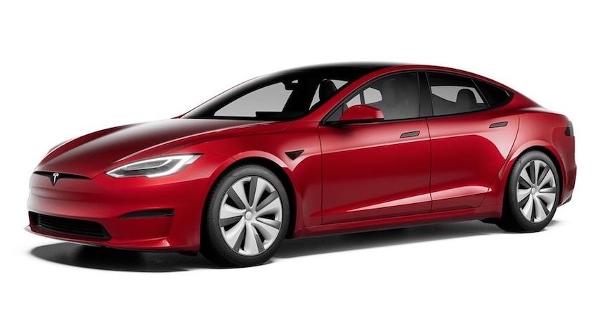Tesla Model S Electric Saloon