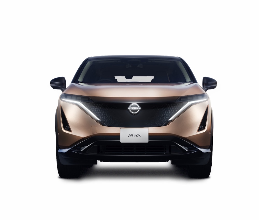 The All-Electric Nissan ARIYA Crossover SUV