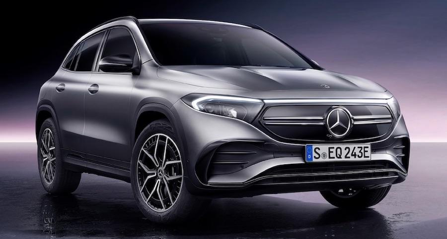 Mercedes-Benz EQA SUV India