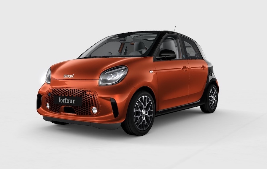smart electric car forfour India