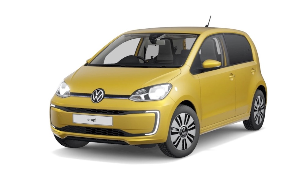 vw electric e-up India