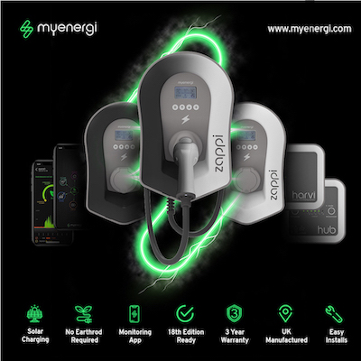 myenergi zappi ev charger