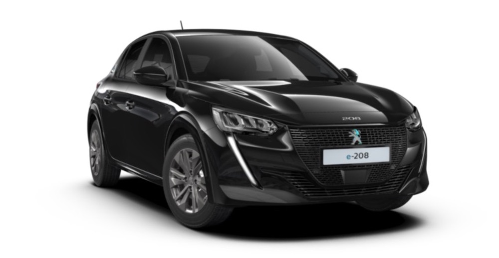 All-Electric New Peugeot e-208