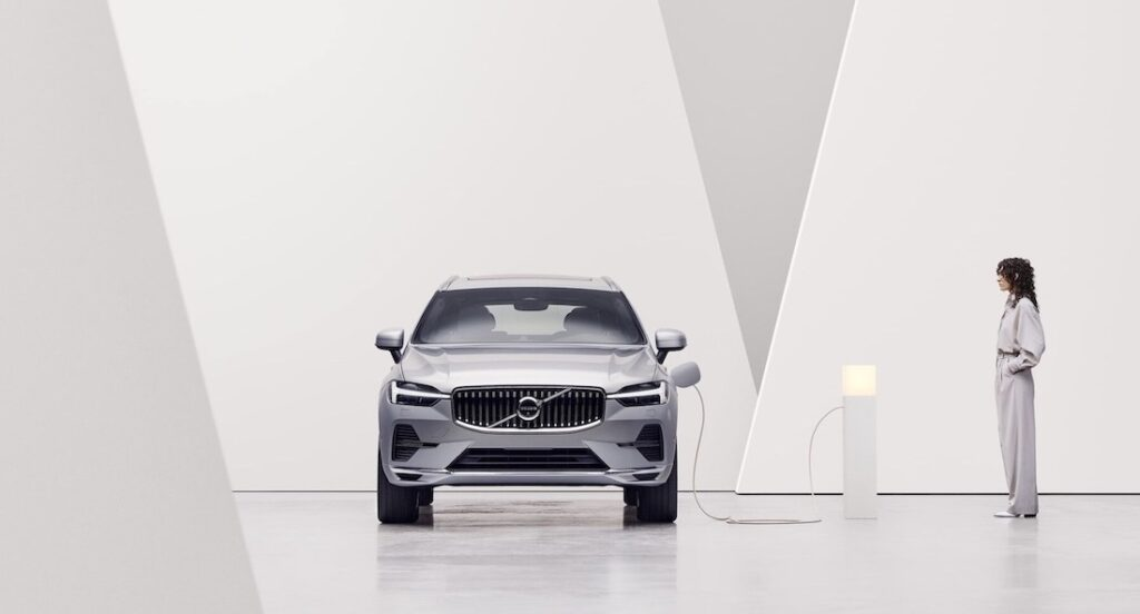 Volvo XC60 Recharge electric plug-in hybrid India