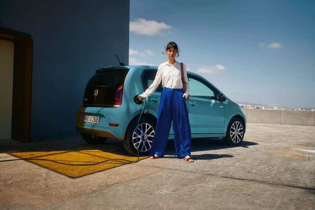 VW eUP electric car